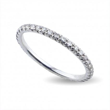 Eternè con diamanti in oro 750