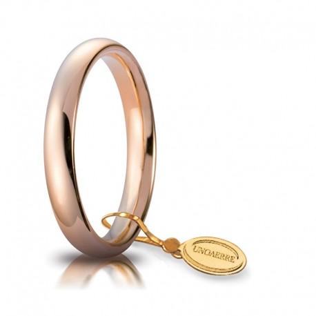Fede UNOAERRE Comoda 3,5 mm Oro rosa 18k