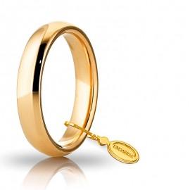 Fede UNOAERRE Comoda 4,0 mm Oro giallo 18k