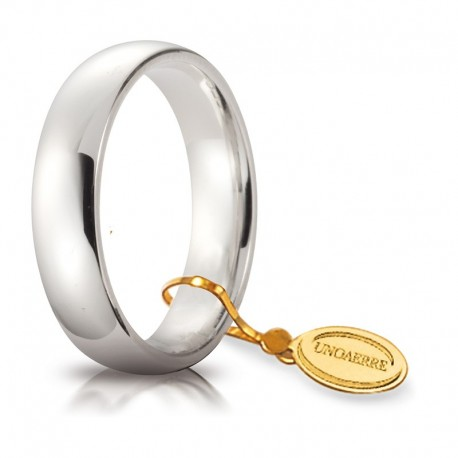 Comoda 5,0 mm Oro bianco da gr 7,0 a 8,7