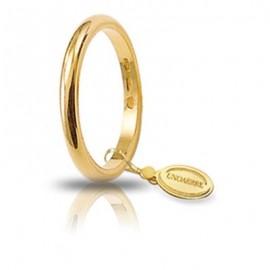 Fede UNOAERRE Francesina gr 3 oro giallo
