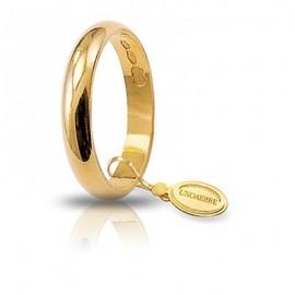 Fede UNOAERRE Classica gr 3 oro giallo