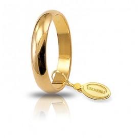 Fede UNOAERRE Classica gr 4 oro giallo