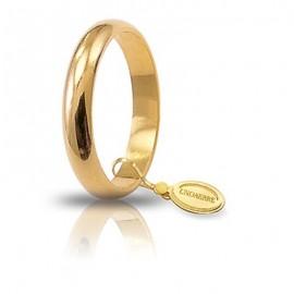 Fede UNOAERRE Classica gr 5 oro giallo