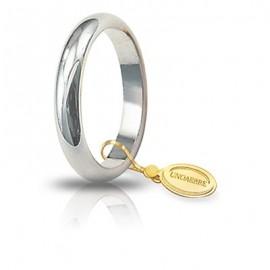 Fede UNOAERRE Classica gr 5 oro bianco