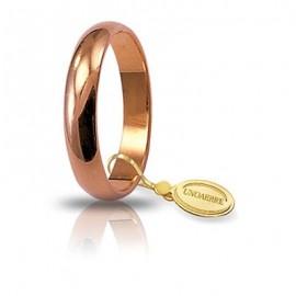 Fede UNOAERRE Classica gr 5 oro rosa