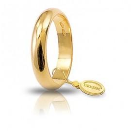 Fede UNOAERRE Classica gr 6 oro giallo