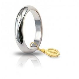 Fede UNOAERRE Classica gr 6 oro bianco