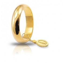 Fede UNOAERRE Classica gr 7 oro giallo