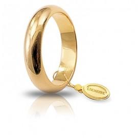Fede UNOAERRE Classica gr 8 oro giallo