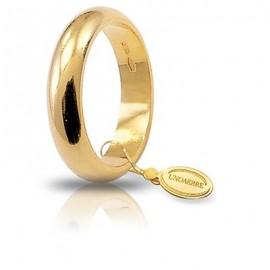 Fede UNOAERRE Classica gr 10 oro giallo