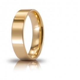 Fede UNOAERRE Cerchio di Luce 5 mm Oro giallo